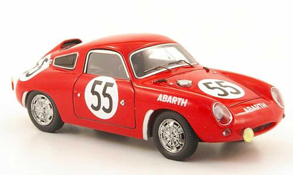 Abarth 700 S 1/43 Spark No.55 24h Le Mans P.Condrillier / K.Foitek 1961 miniature