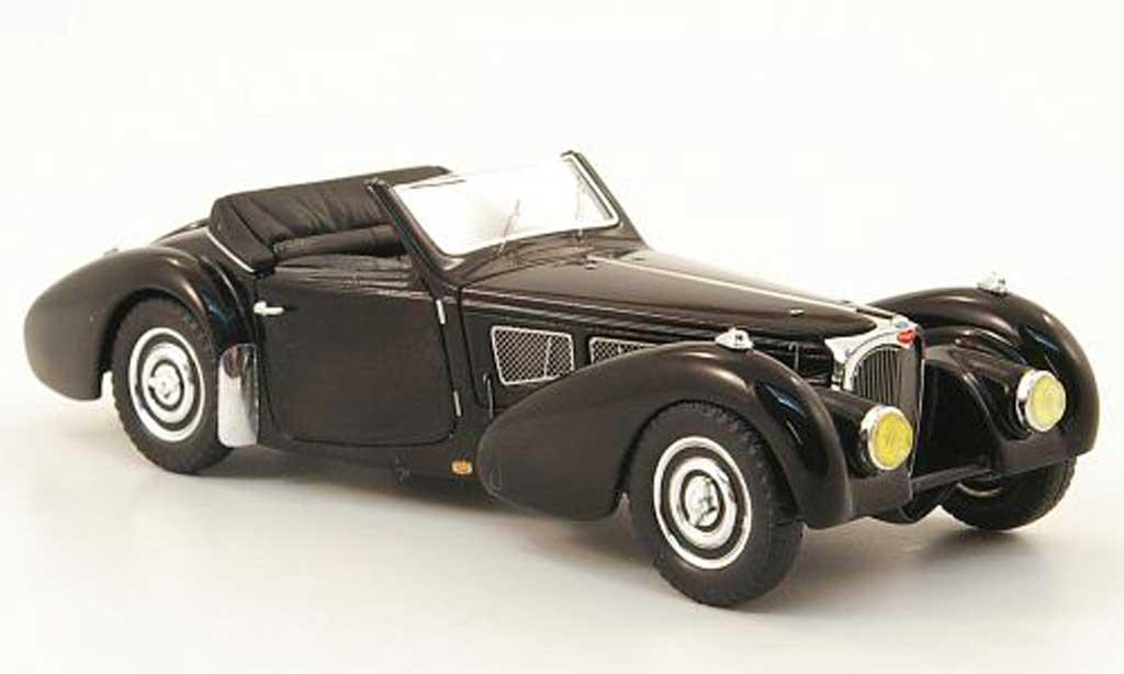 Bugatti 57 S 1/43 Spark Gangloff noire 1937 miniature