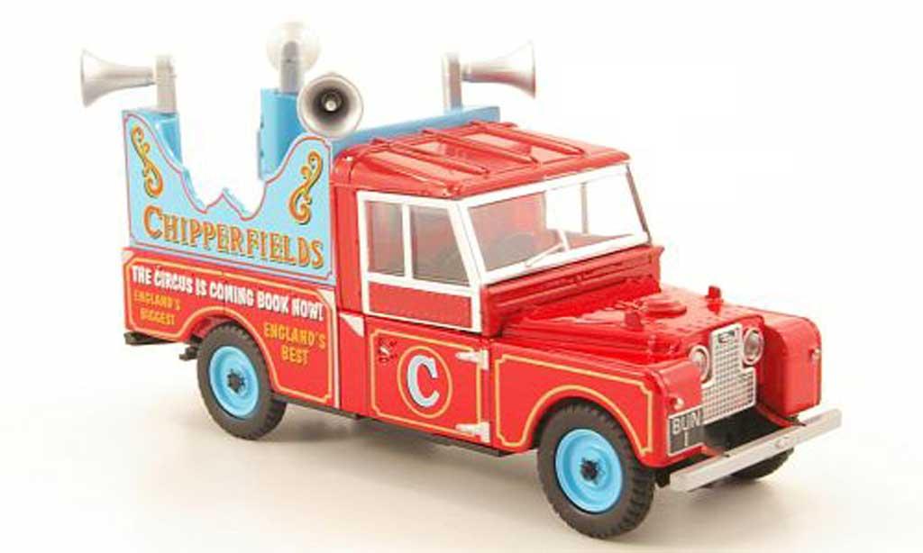 Land Rover 109 1/43 Oxford Pick Up Chipperfields Werbefahrzeug