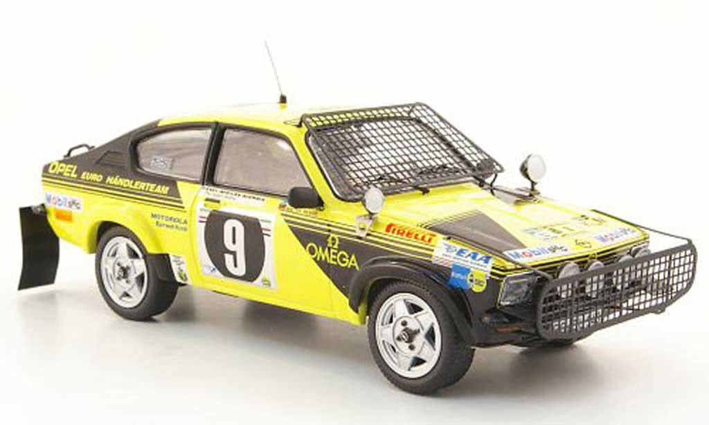 Opel Kadett C 1/43 Schuco Coupe Rallye No.9 Safari Rally 1976 miniatura