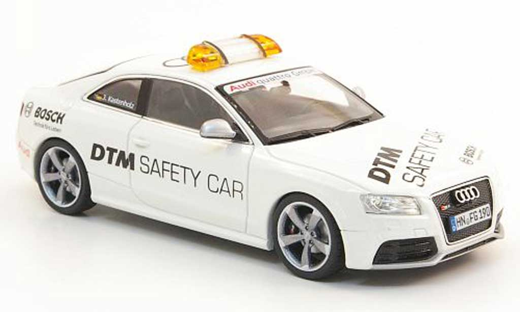 Audi RS5 DTM 1/43 Schuco Safety Car 2010 miniature