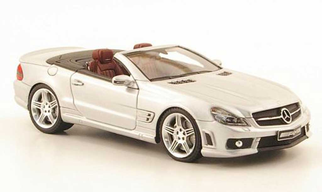 Mercedes Classe SL 65 1/43 Absolute Hot 65 AMG grise miniature