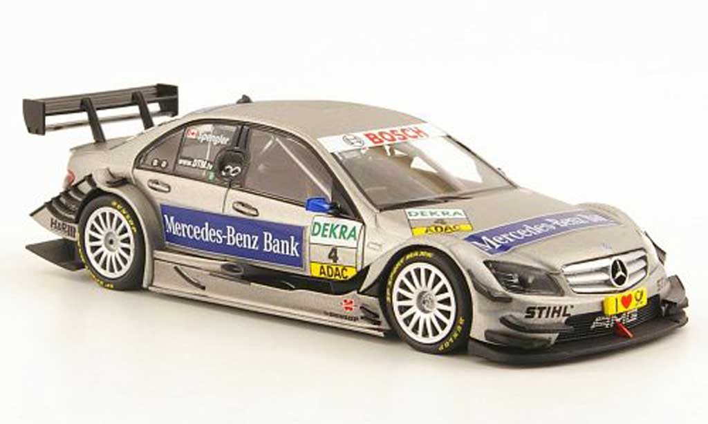 Mercedes Classe C DTM 1/43 Minichamps No.4 Mercedes-Benz Bank Saison 2010 miniature
