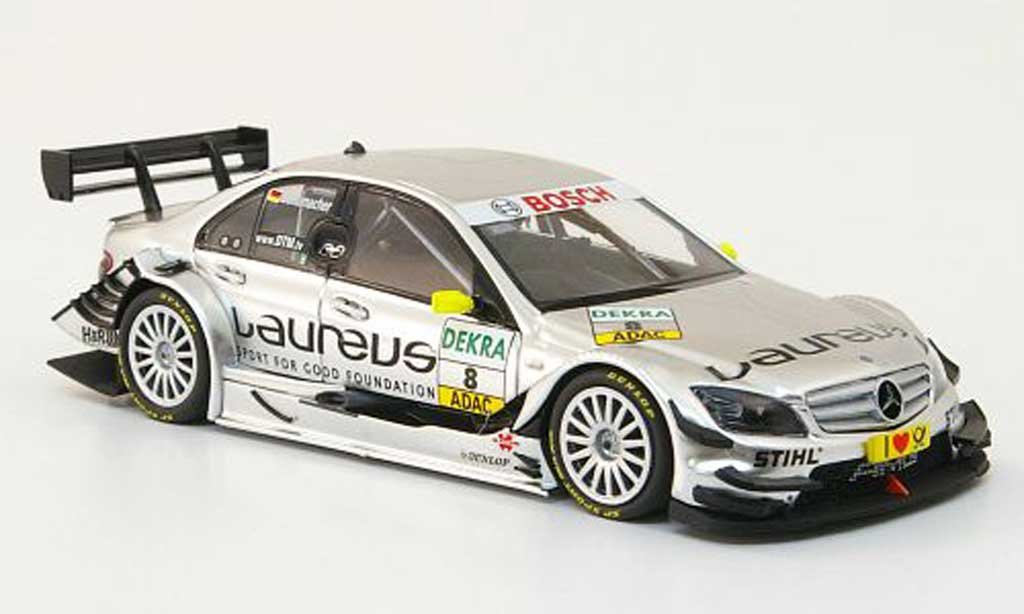Mercedes Classe C DTM 1/43 Minichamps 09 No.8 Team Laureus AMG Saison 2010 miniature