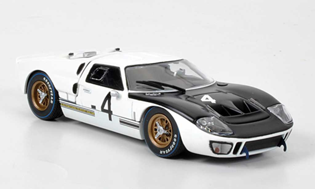 Ford GT40 1/43 Minichamps GT 40 MKII No.4 Whitmore/Gardner 1000 km Spa 1966 miniature