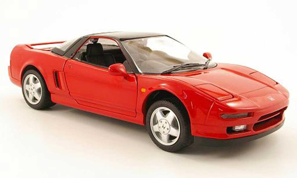 Honda NSX 1990 1/18 Kyosho rouge/noire miniature