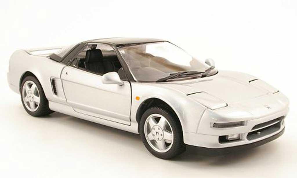 Honda NSX 1990 1/18 Kyosho grise allise/noire miniature