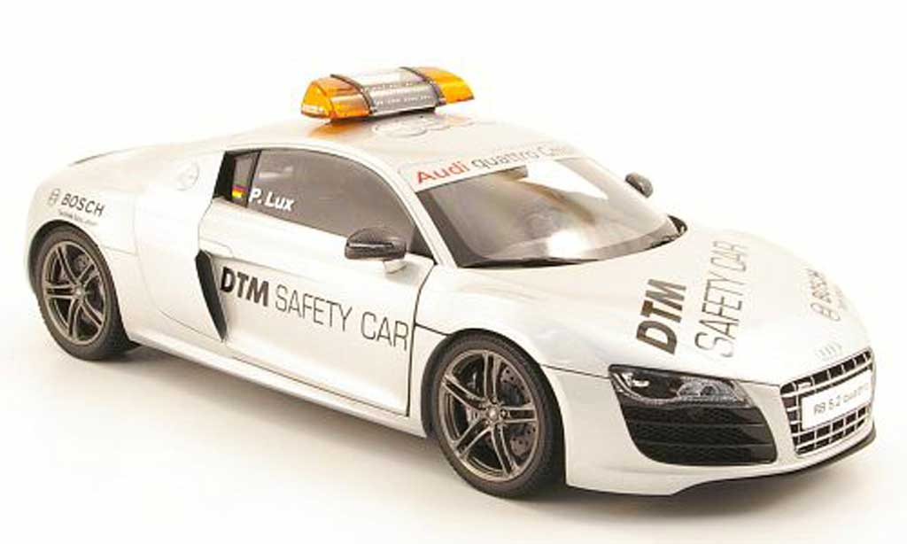 Audi R8 5.2 FSI 1/18 Kyosho v10 quattro safety car dtm 2010 miniature