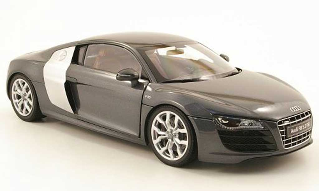 Audi R8 5.2 FSI 1/18 Kyosho quattro grey/grey allise diecast model cars