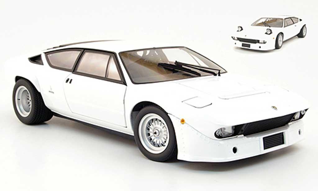 Lamborghini Urraco 1/18 Kyosho rallye white diecast