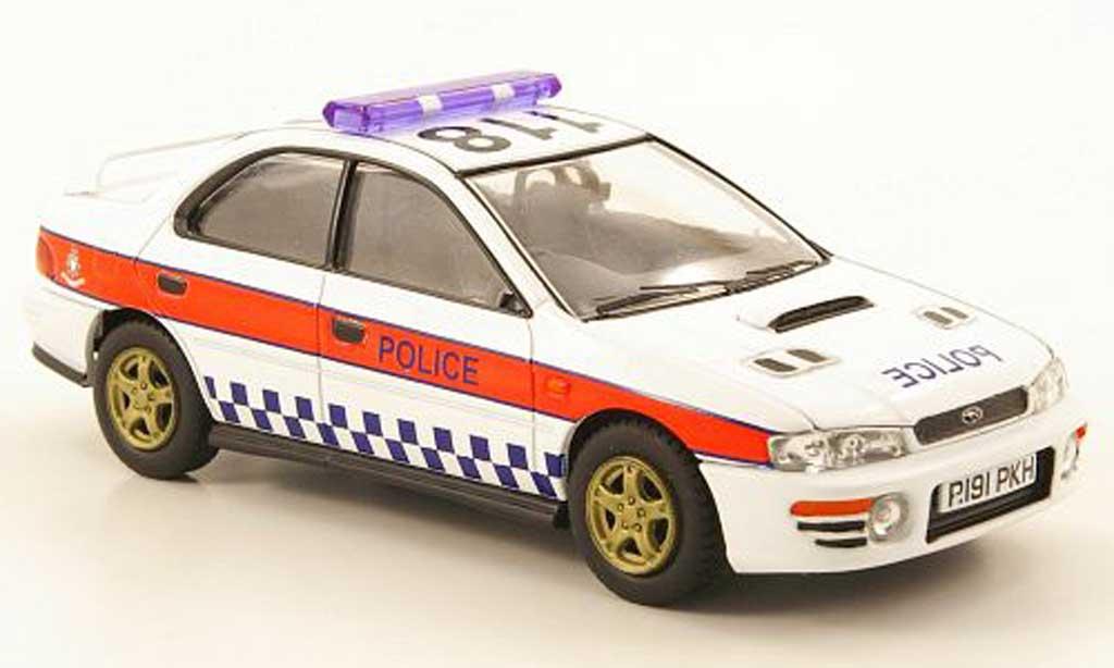 Subaru Impreza 1/43 Vanguards Turbo Humberside Police Polizei (GB) miniature