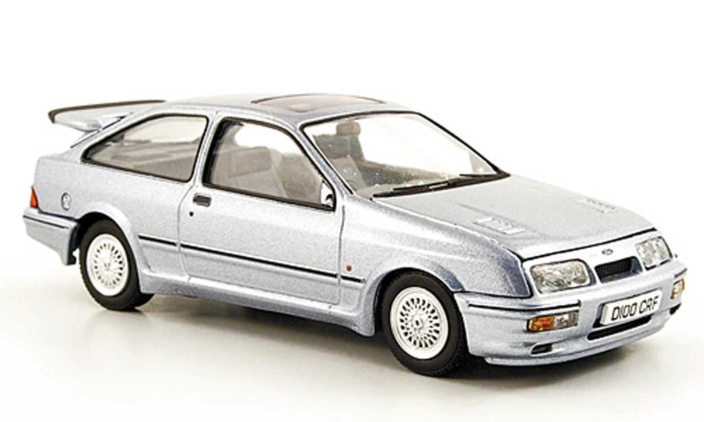 Ford Sierra Cosworth RS 1/43 Vanguards grise miniature