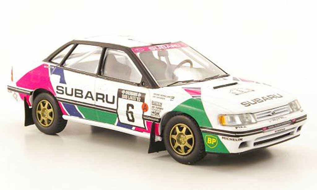 Subaru Legacy RS 1992 1/43 Vanguards No.6 Rally Finnland miniature