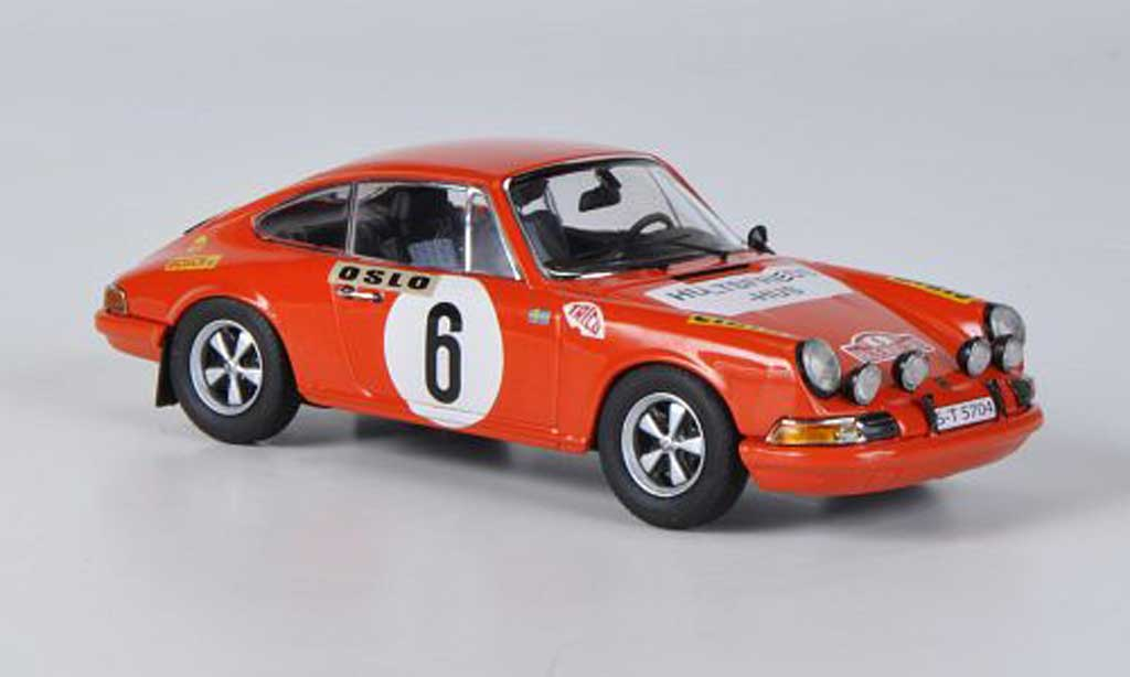Porsche 911 1/43 Schuco S No.6 Waldegaard/Helmer Rally Monte Carlo 1970 miniature
