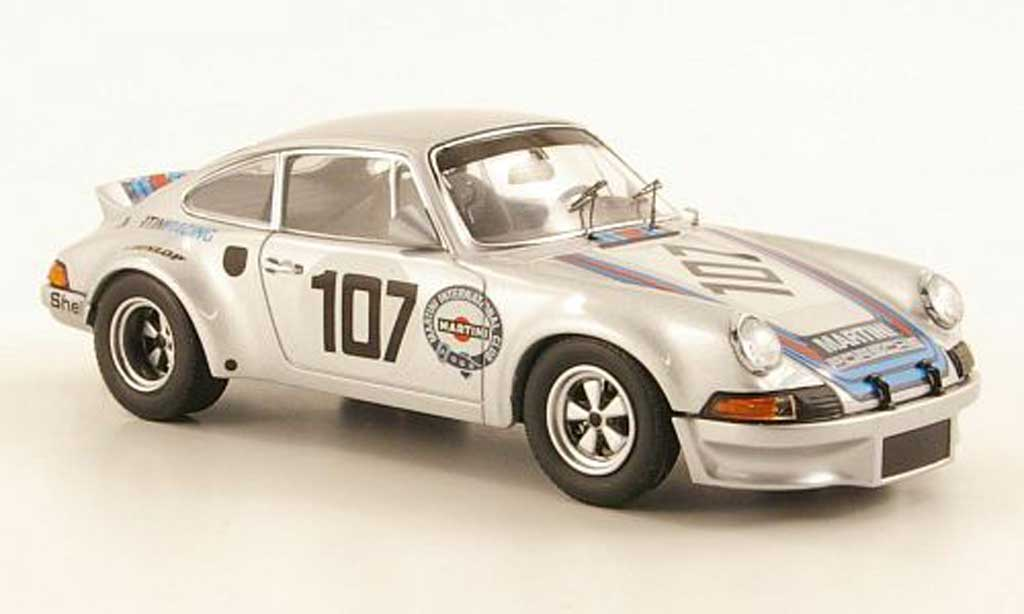 Porsche 911 1/43 Schuco Carrera 2.8 R No.107 Targa Florio 1973 diecast