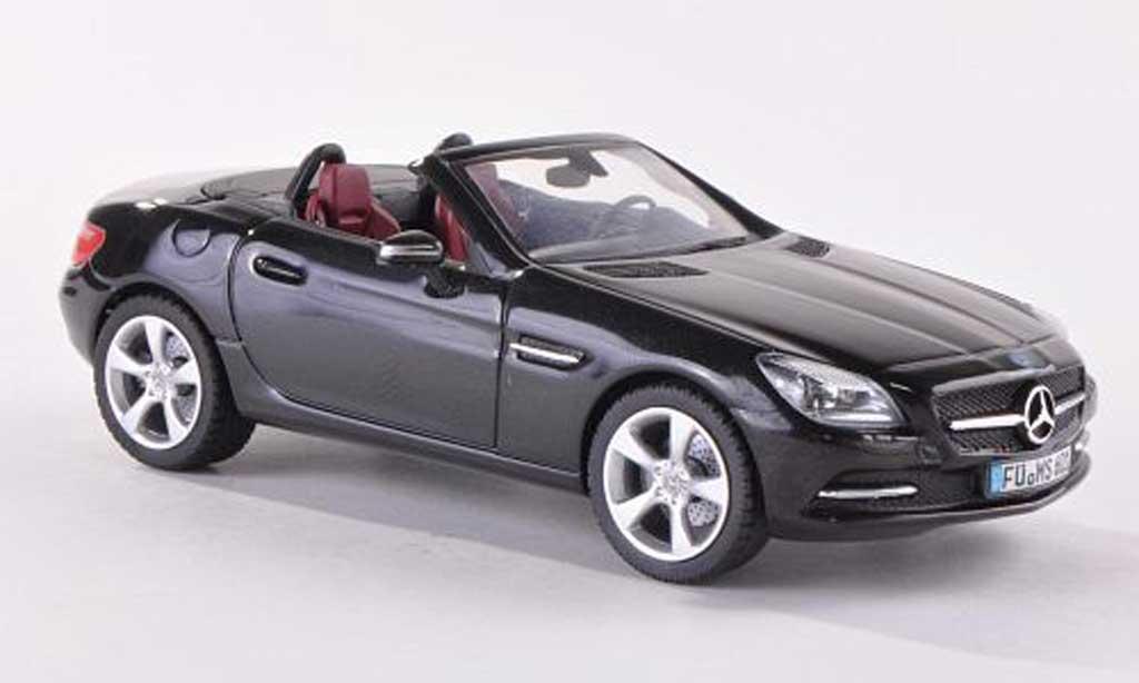 Mercedes Classe SLK 1/43 Schuco (R172) noire  2011 miniature