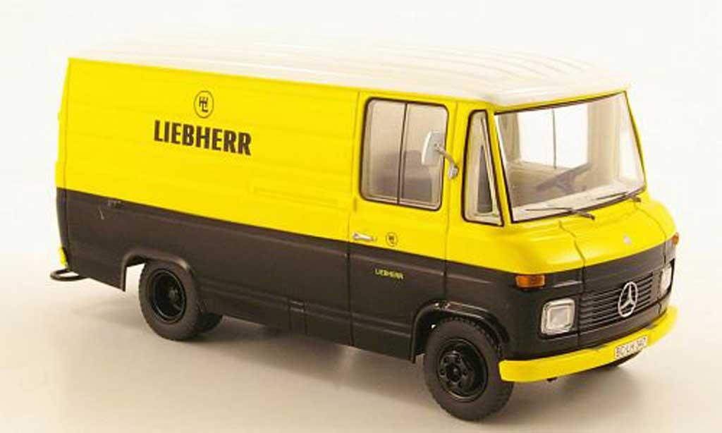 Mercedes L408 1/43 Schuco Kasten Liebherr miniature