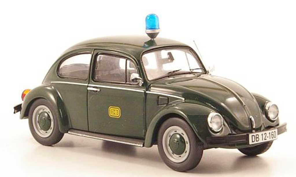 Volkswagen Kafer 1/43 Schuco DB Bahnpolizei diecast