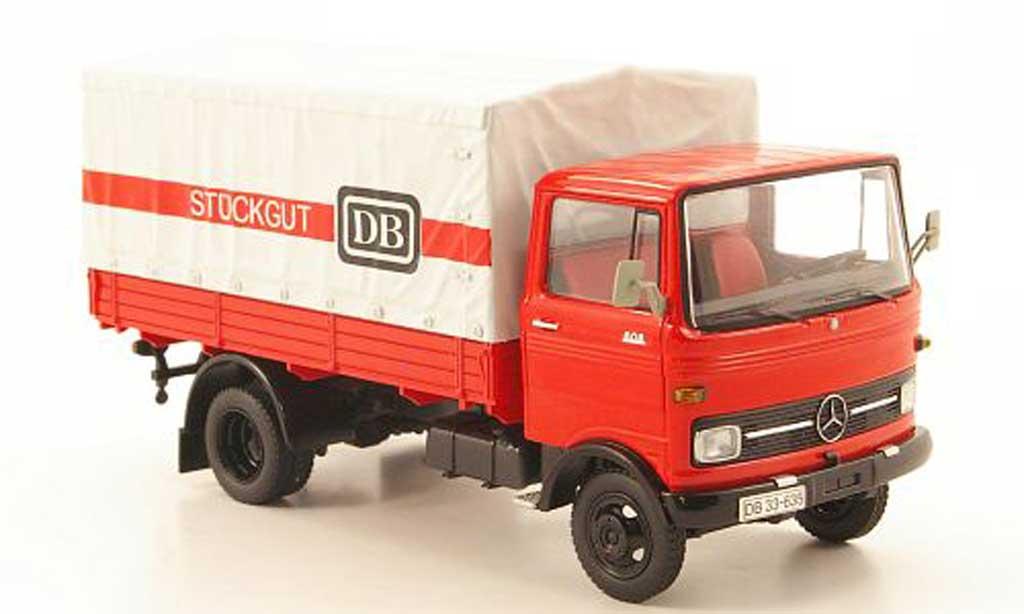 Mercedes LP 608 1/43 Schuco DB Stuckgut Pritsche/Plane miniature