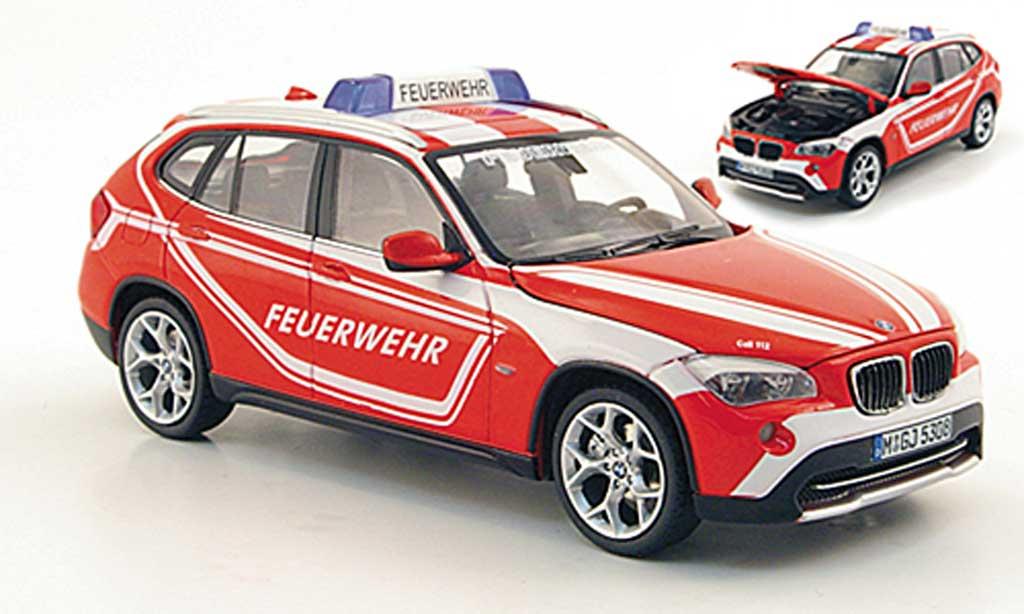 Bmw X1 E84 1/43 Schuco pompier miniature
