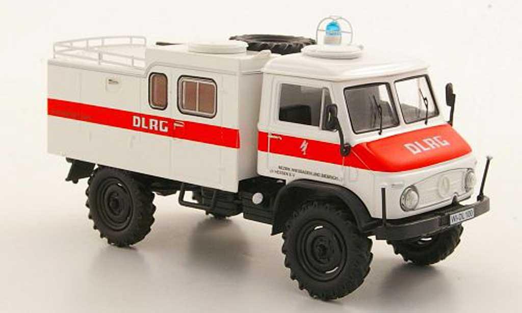 Mercedes Unimog 1/43 Schuco 404 S DLRG Wasserrettung miniature