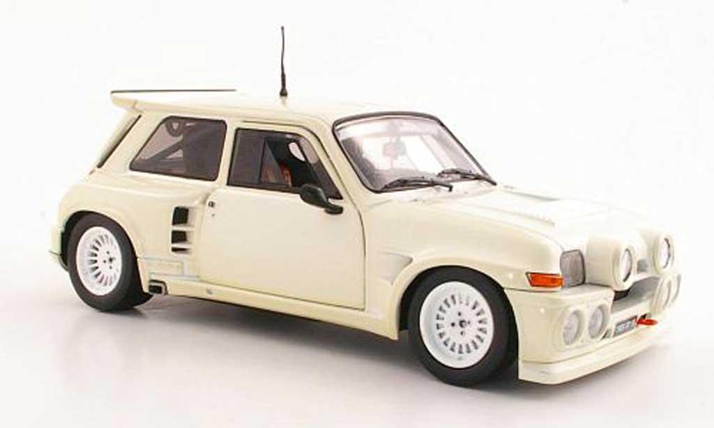 Renault 5 Turbo 1/18 Solido Maxi beige 198 coche miniatura