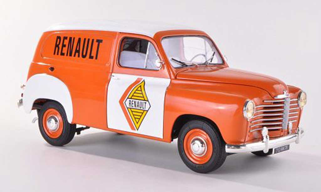 Renault Colorale 1/18 Solido Fourgon 1953 miniature