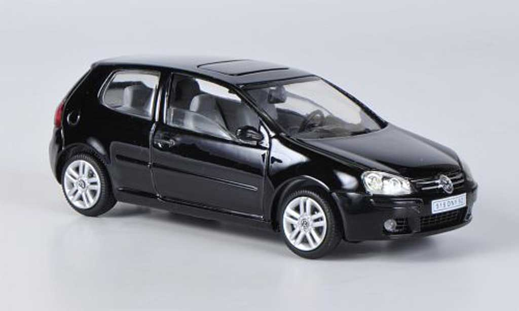 Volkswagen Golf V 1/43 Solido black 2003 diecast