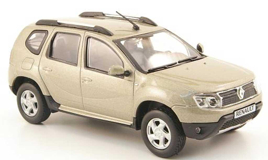 Dacia Duster 1/43 Solido beige 2010 modellino in miniatura