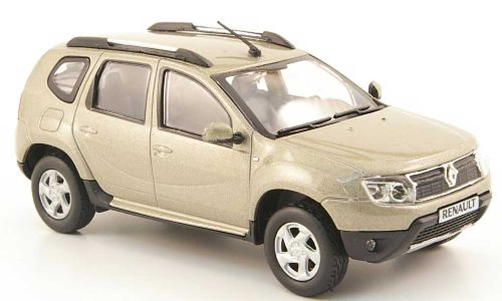 Dacia Duster 1/43 Solido beige 2010 diecast
