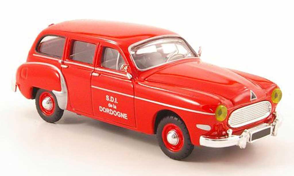 Renault Fregate 1/43 Solido Domaine pompier 1956 miniature