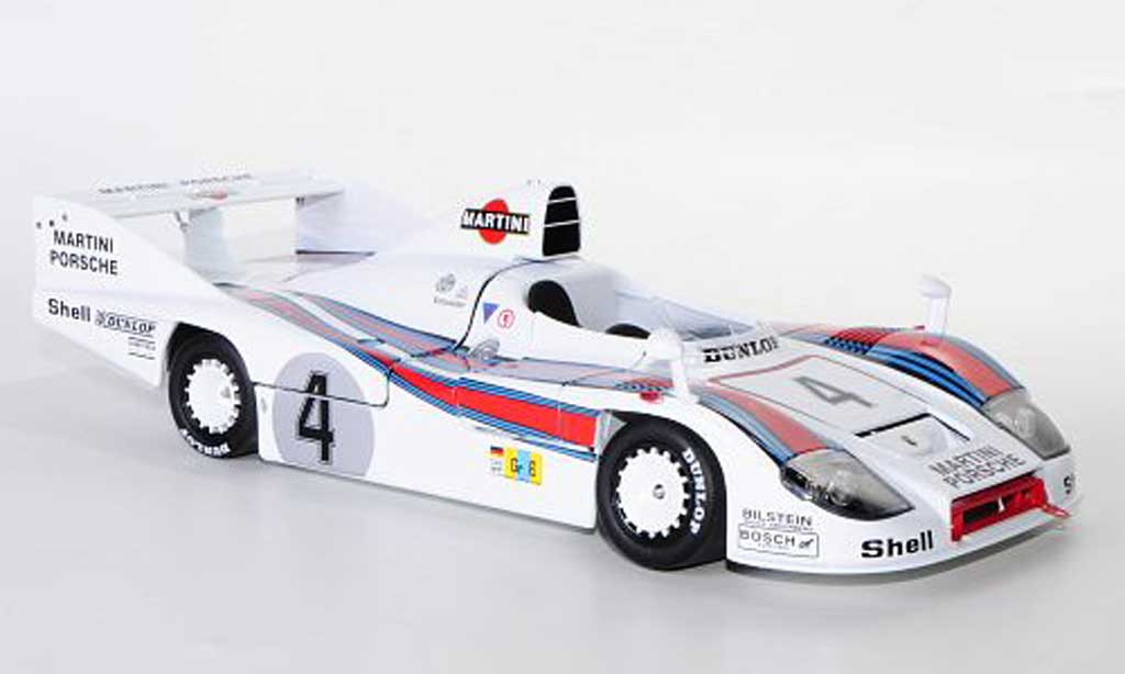 Porsche 936 1977 1/18 TrueScale Miniatures 77 No.4 Martini Racing J.Ickx / H.Haywood / J.Barth 24h Le Mans miniature