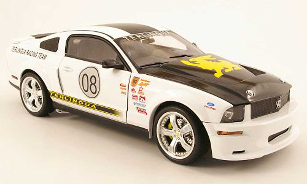 Shelby GT 500 1/18 Shelby Collectibles no.08 terlingua racing team 2008 diecast