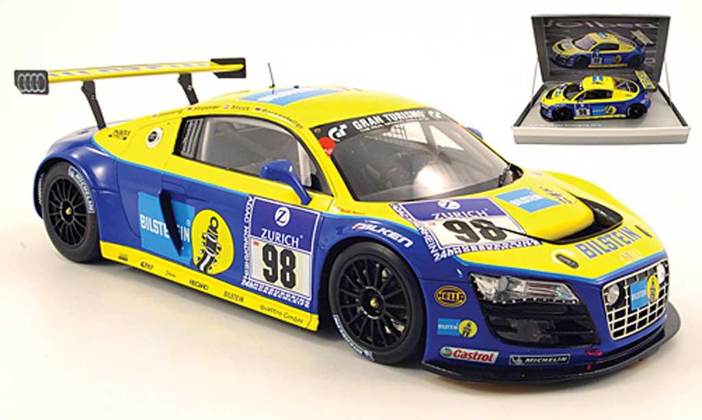 Audi R8 LMS 1/18 Spark no.98 bilstein 24h nurburgring 2010 basseng / stippler / stuck / rockenfeller diecast model cars