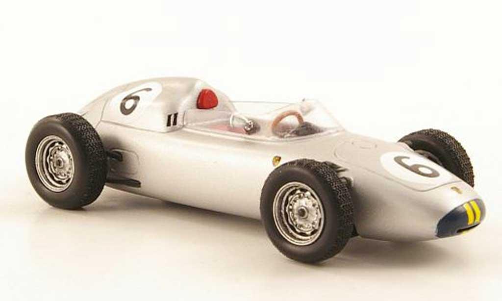 Porsche 718 1/43 TrueScale Miniatures 1960 F2 No.6 J.Bonnier Nurburgring Sudschleife miniature
