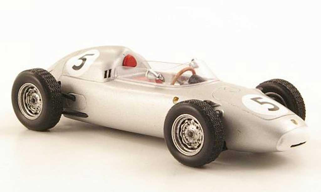 Porsche 718 1/43 TrueScale Miniatures 1960 F2 No.5 H.Herrmann Solitude GP diecast model cars