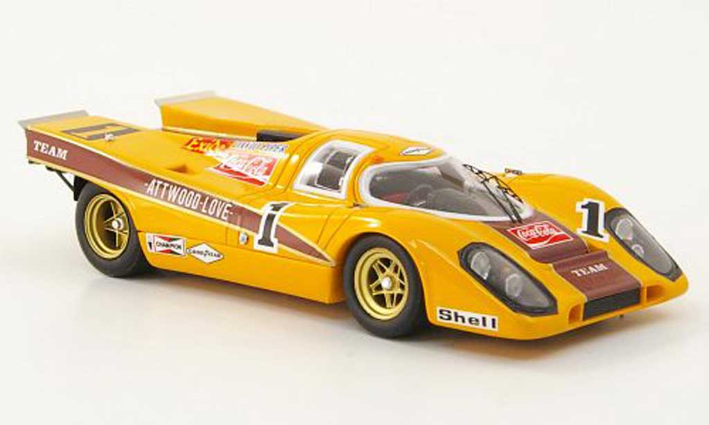 Porsche 917 1970 1/43 TrueScale Miniatures No.1 Team Guston/Coca-Cola 9h Kyalami diecast model cars
