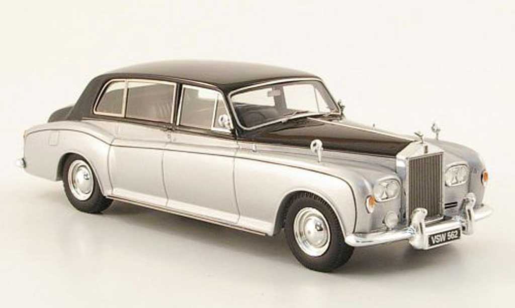 Rolls Royce Phantom 1970 1/43 TrueScale Miniatures VI Mulliner Park Ward grise /noire 1970 miniature