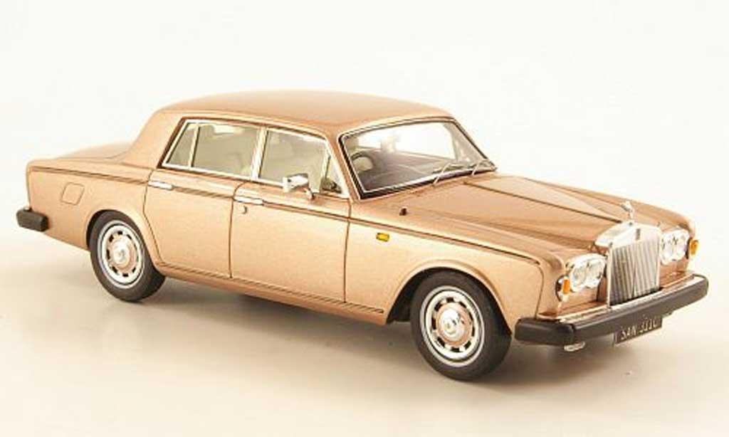Rolls Royce Silver Shadow 1/43 TrueScale Miniatures ll Park Ward beige 1979 miniature
