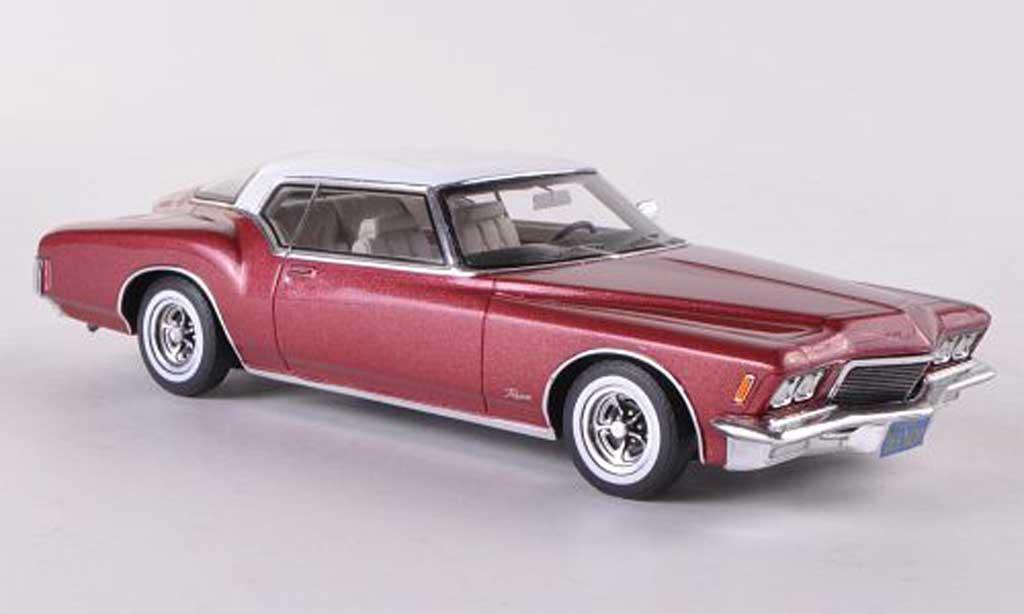 Buick Riviera 1971 1/43 TrueScale Miniatures rouge/blanche miniature
