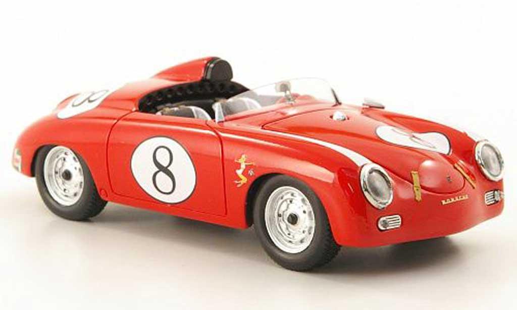 Porsche 356 1/43 Premium ClassiXXs Speedster AmericNo.8 rot modellautos
