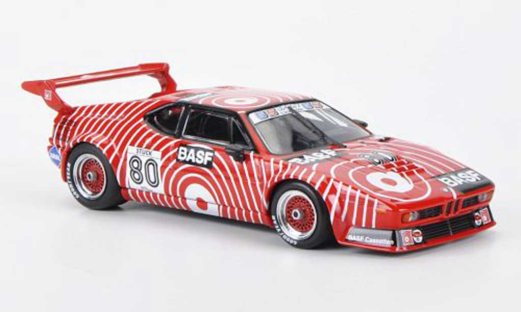 Bmw M1 1980 1/43 Minichamps Procar No.80 Team GS Sport BASF H.J.Stuck Procar Serie miniature