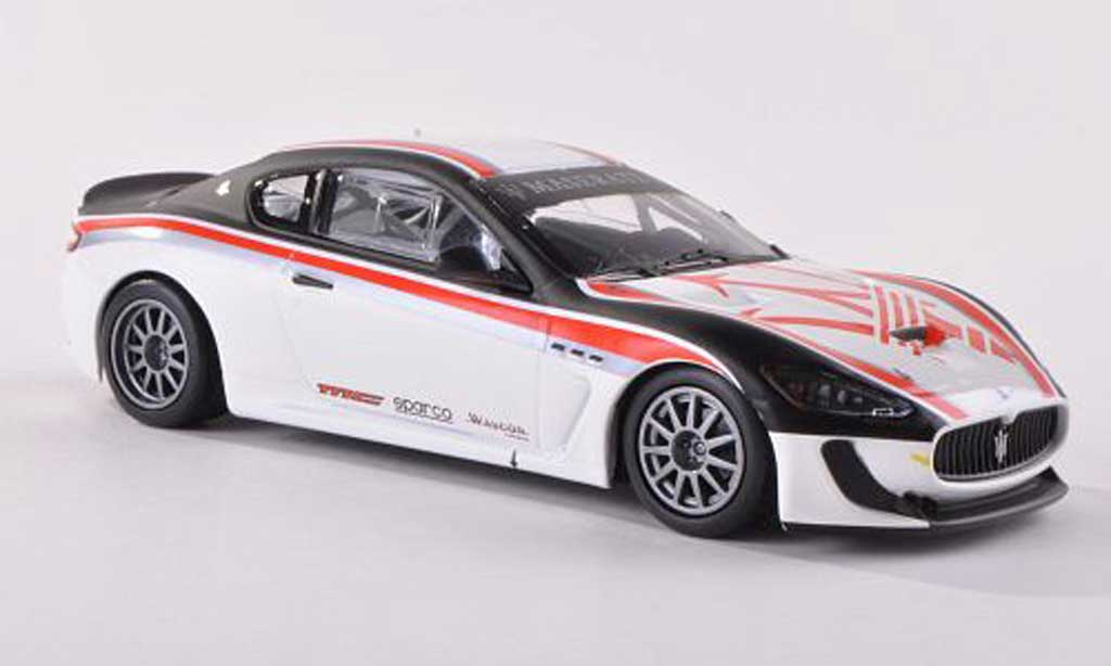 Maserati Gran Turismo GT4 1/43 Minichamps MC Test Car Trofeo MC 2010 miniature