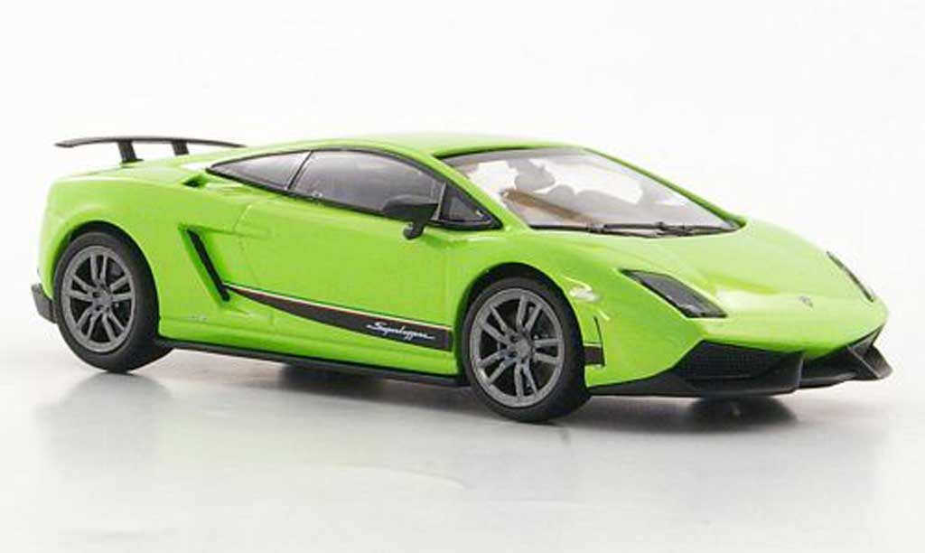 Lamborghini Gallardo LP570-4 1/43 Minichamps Superleggera green 2010