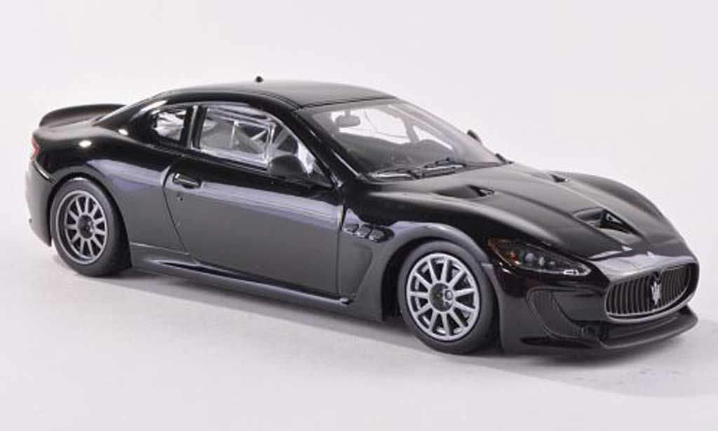 Maserati Gran Turismo GT4 1/43 Minichamps MC black Testfahrzeug  2010 diecast