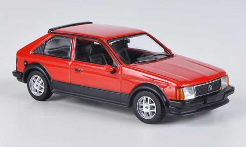 Opel Kadett D 1/43 Minichamps SR rouge 1979 miniature