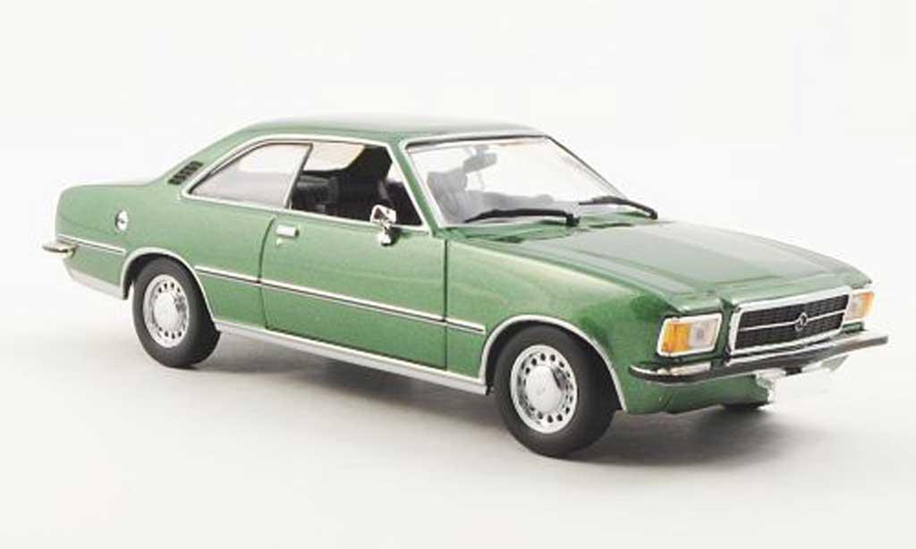 Opel Rekord 1/43 Minichamps Rekord D Coupe verte 1975 miniature