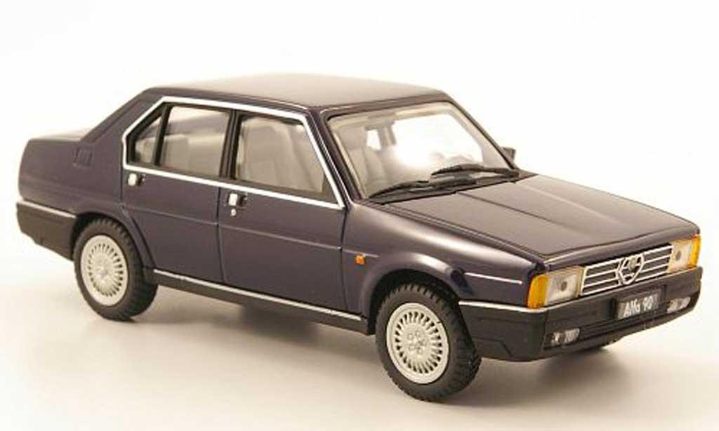 Alfa Romeo 90 1/43 Pego Berlina bleu 1984 miniature