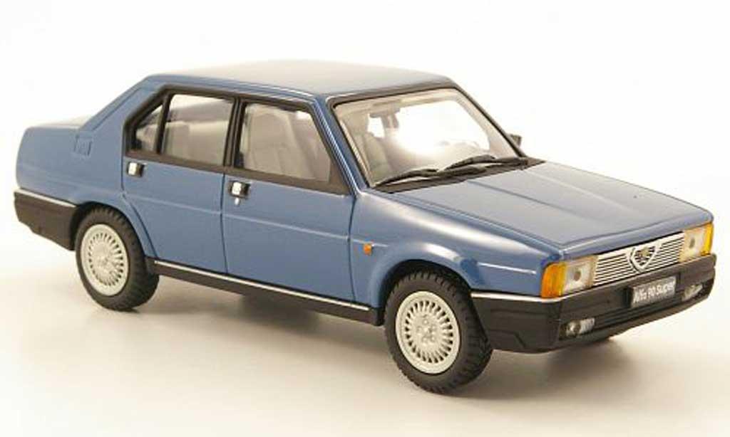 Alfa Romeo 90 1/43 Pego Super bleu 1984 diecast