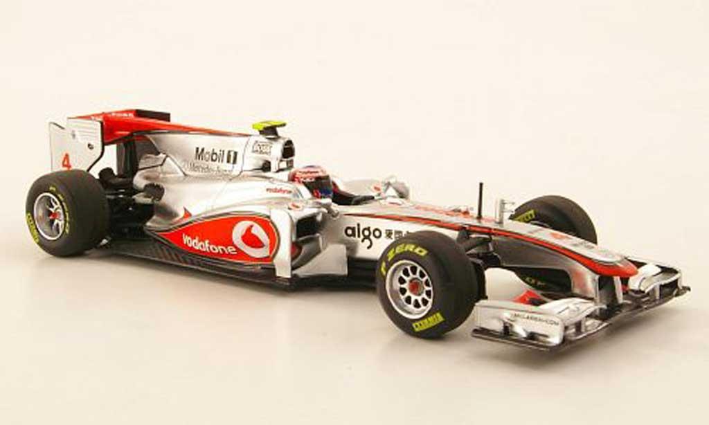 Mercedes F1 2011 1/43 Minichamps McLaren No.4 Vodafone J.Button Showcar miniature